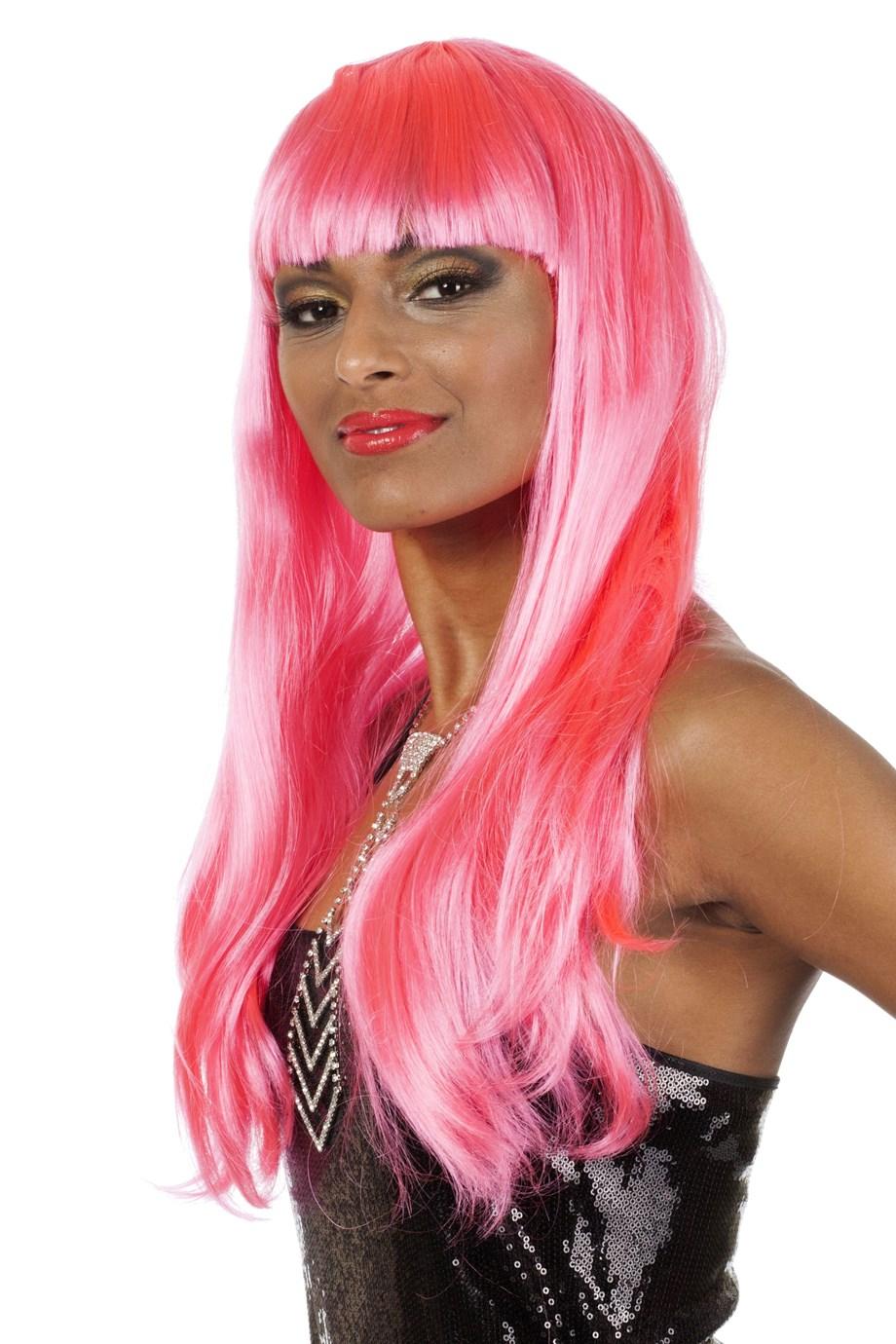 Bobine de luxe lang neon pink
