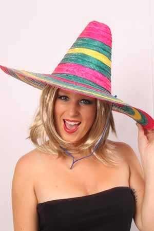 Sombrero mexico populaire multi