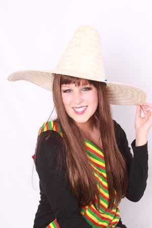 Sombrero mexico populaire naturel