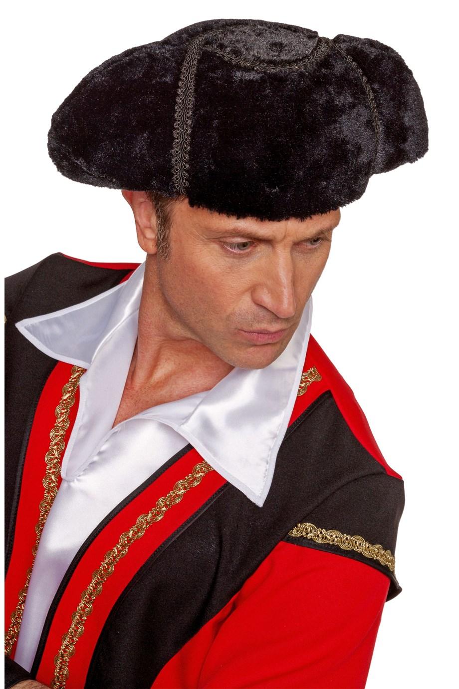 Toreador luxe hoed zwart