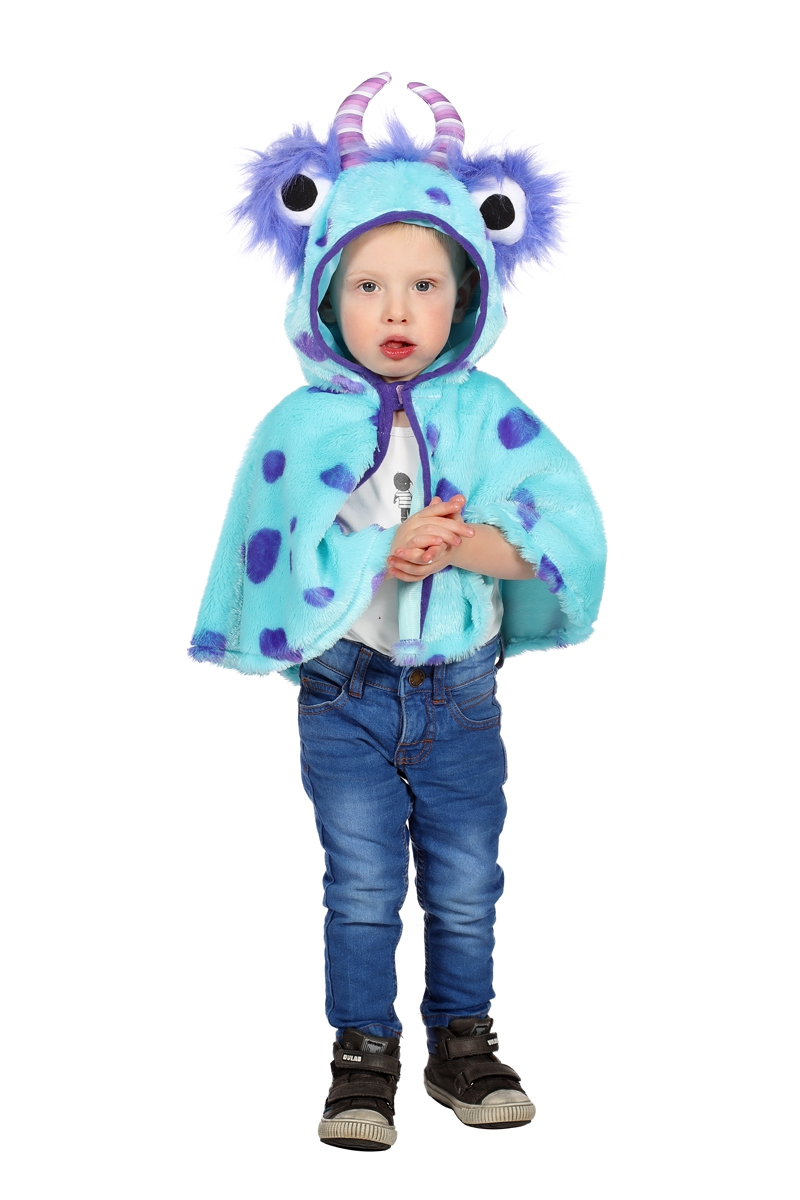 Cape monster blauw one size