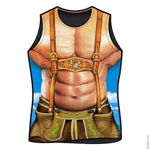 Heren t-shirt Alpen macho