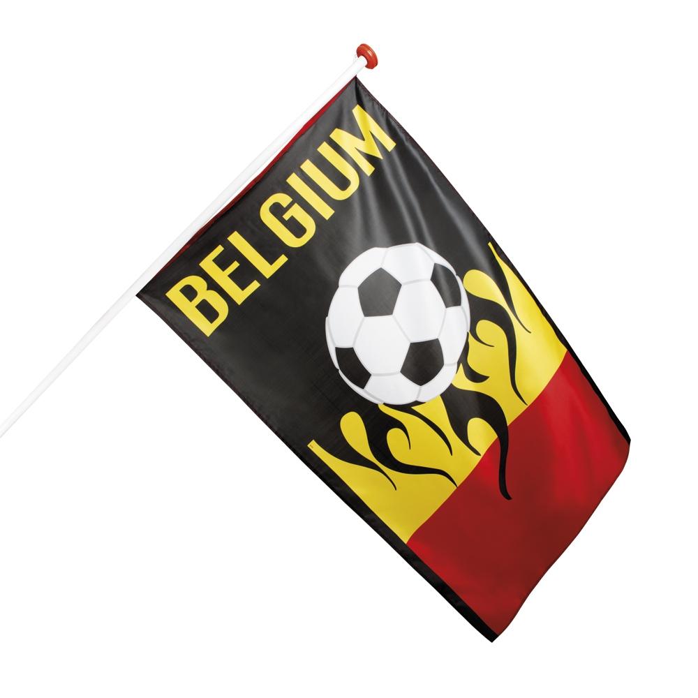 Polyester vlag Belgium (90 x 150 cm)