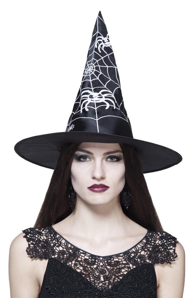 Heksen hoed witch Weave zwart