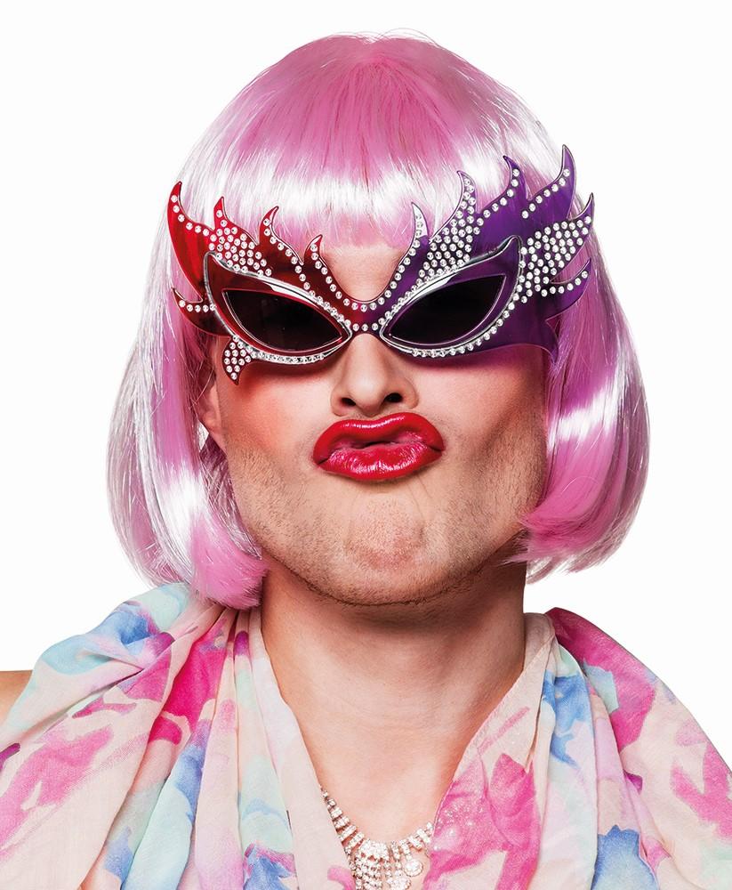 Bril drag queen