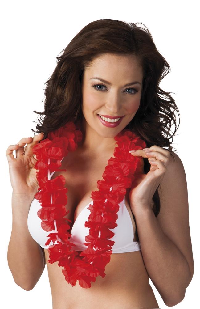 Hawaïkrans Ohana rood