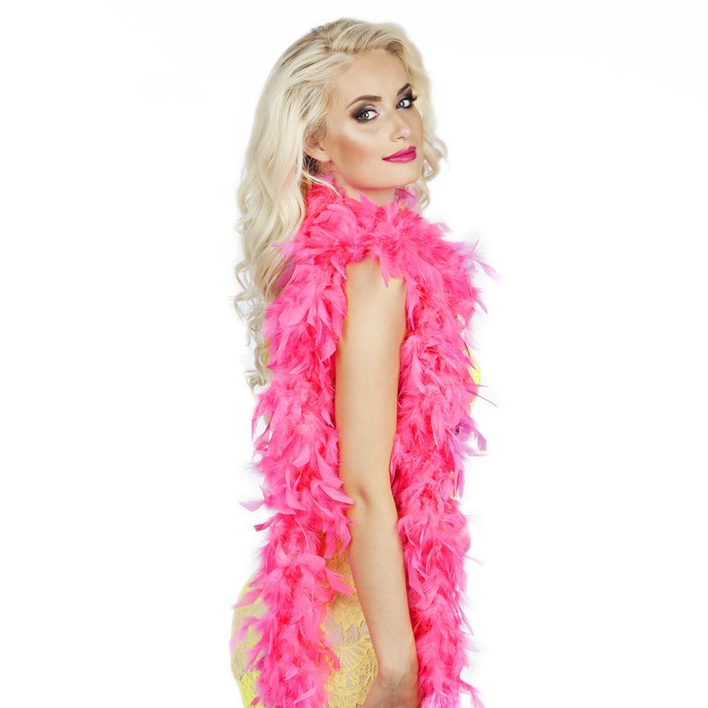 Boa hot pink180 cm 50 gr.
