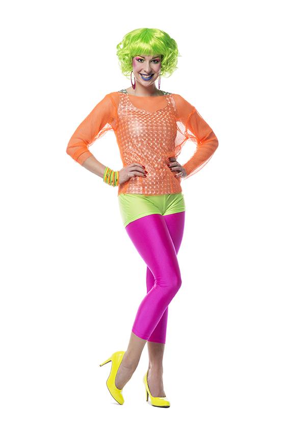 Hotpants Neon Groen