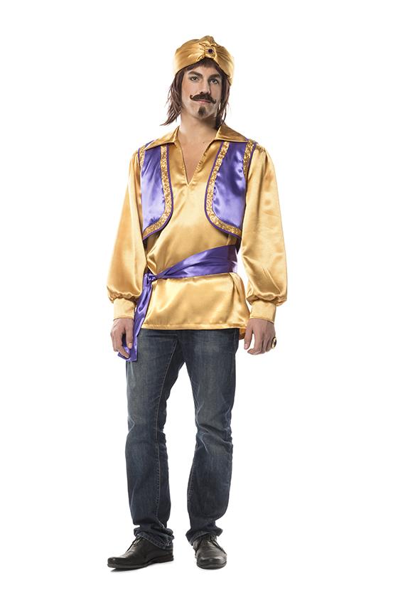 Sultan Vest Paars/Goud